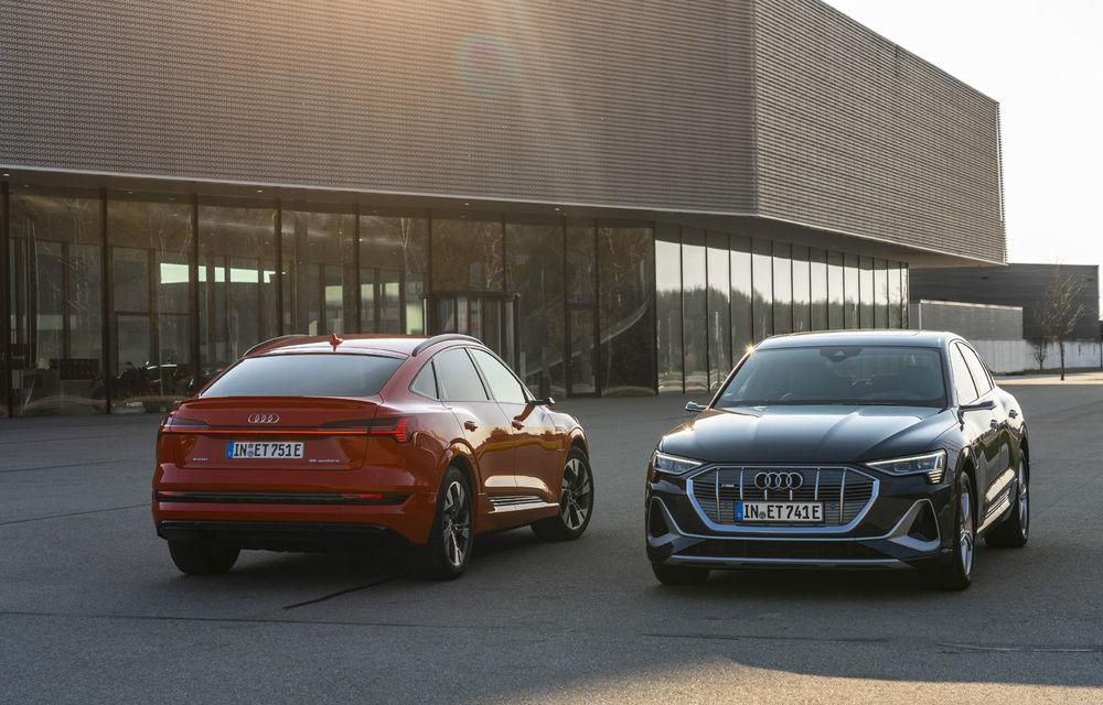 Facem cunoștință cu mașinile din #ElectricRomânia 2020: Audi e-tron Sportback, un SUV-coupé electric performant cu tehnologii de ultima generație - Poza 8