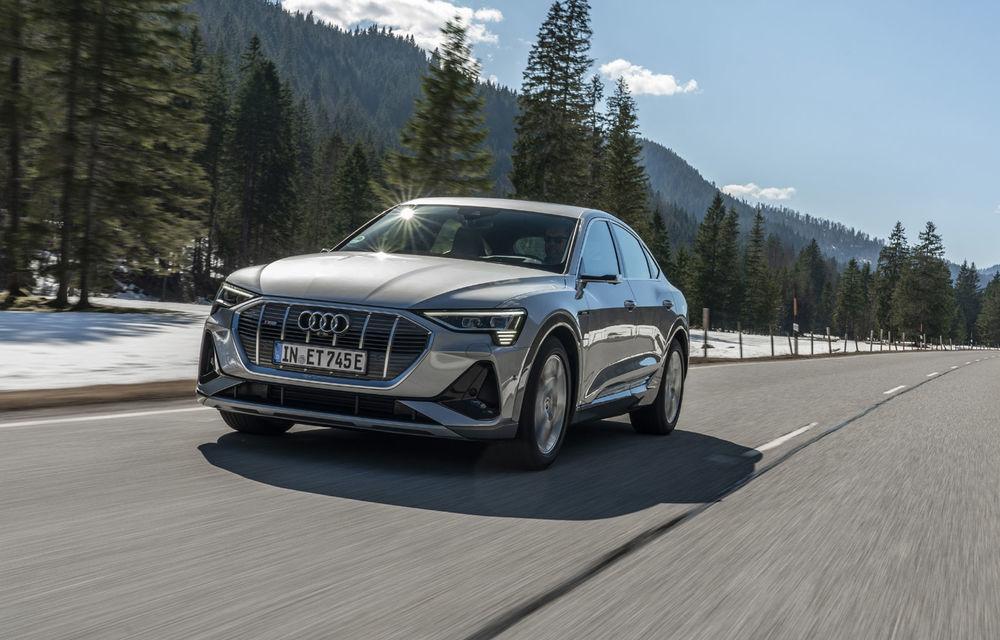 Facem cunoștință cu mașinile din #ElectricRomânia 2020: Audi e-tron Sportback, un SUV-coupé electric performant cu tehnologii de ultima generație - Poza 2