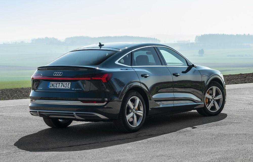 Facem cunoștință cu mașinile din #ElectricRomânia 2020: Audi e-tron Sportback, un SUV-coupé electric performant cu tehnologii de ultima generație - Poza 11