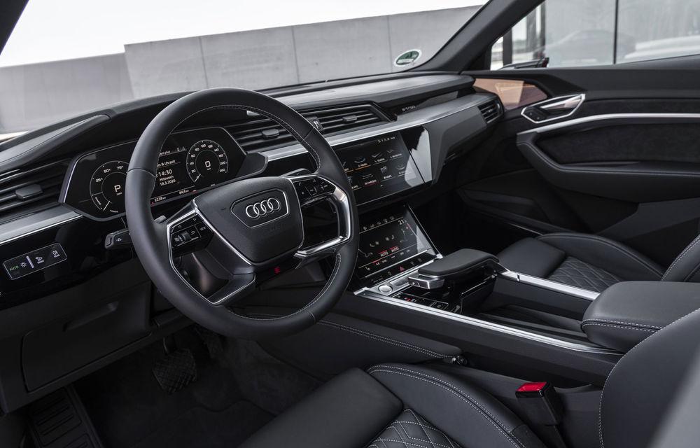 Facem cunoștință cu mașinile din #ElectricRomânia 2020: Audi e-tron Sportback, un SUV-coupé electric performant cu tehnologii de ultima generație - Poza 34