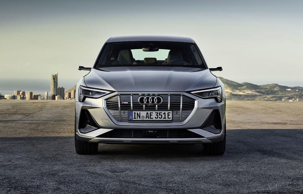 Facem cunoștință cu mașinile din #ElectricRomânia 2020: Audi e-tron Sportback, un SUV-coupé electric performant cu tehnologii de ultima generație - Poza 30