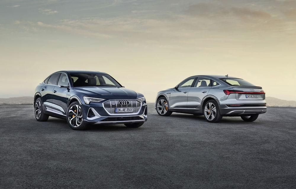 Facem cunoștință cu mașinile din #ElectricRomânia 2020: Audi e-tron Sportback, un SUV-coupé electric performant cu tehnologii de ultima generație - Poza 20