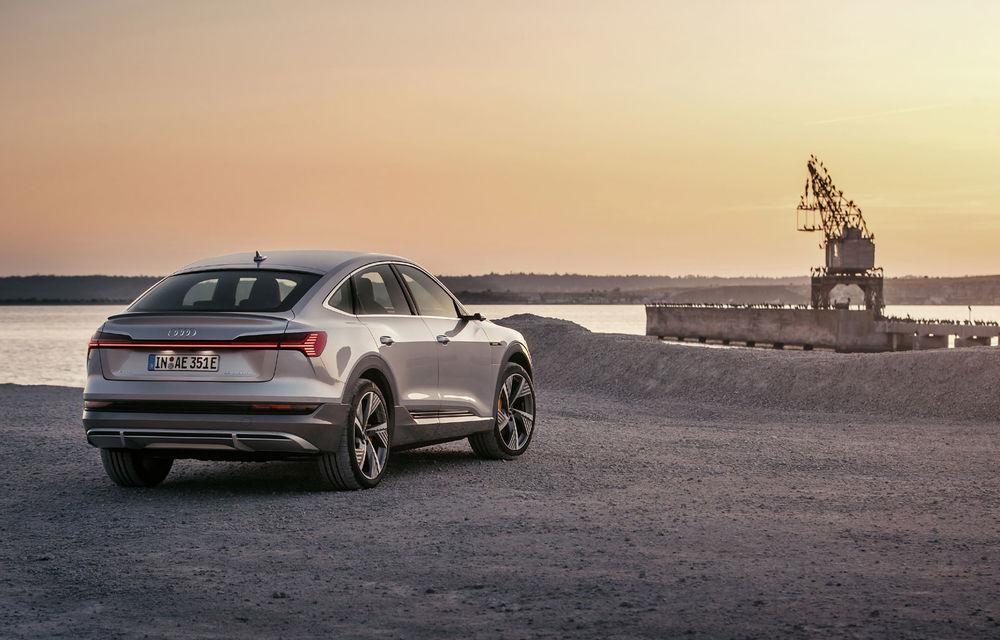 Facem cunoștință cu mașinile din #ElectricRomânia 2020: Audi e-tron Sportback, un SUV-coupé electric performant cu tehnologii de ultima generație - Poza 27