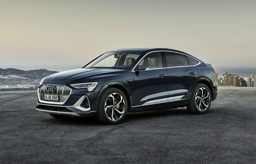 Facem cunoștință cu mașinile din #ElectricRomânia 2020: Audi e-tron Sportback, un SUV-coupé electric performant cu tehnologii de ultima generație - Poza 18