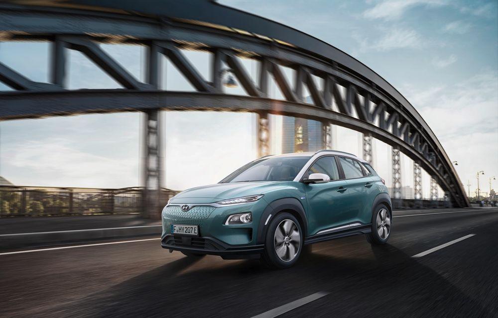 Facem cunoștință cu mașinile din #ElectricRomânia 2020: Hyundai Kona Electric, propunerea mărcii coreene pe populara piață a SUV-urilor electrice - Poza 3