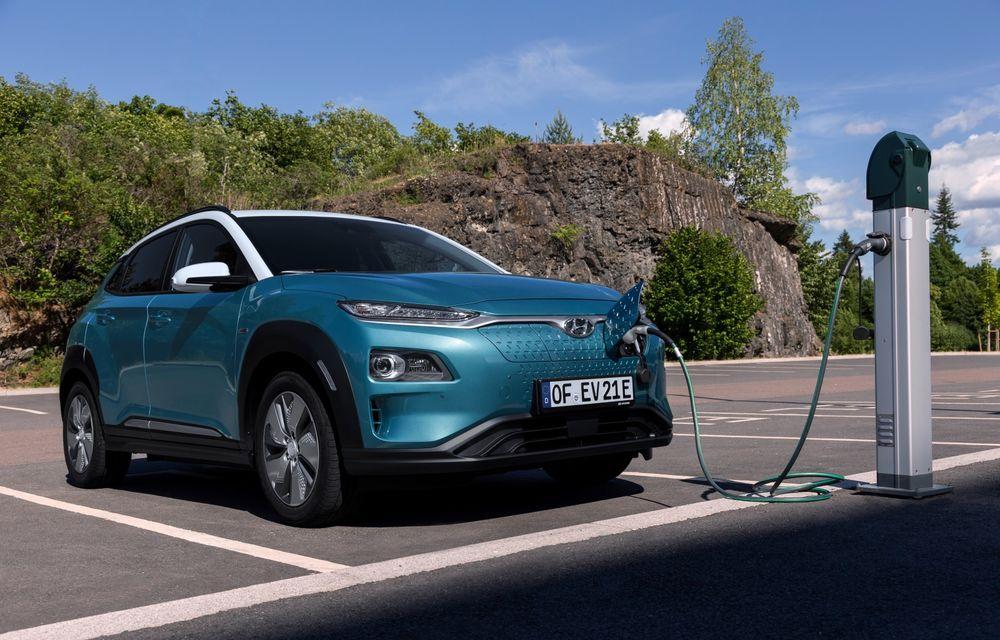 Facem cunoștință cu mașinile din #ElectricRomânia 2020: Hyundai Kona Electric, propunerea mărcii coreene pe populara piață a SUV-urilor electrice - Poza 12