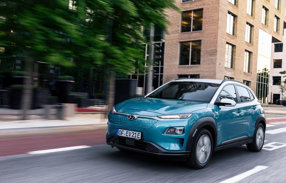 Facem cunoștință cu mașinile din #ElectricRomânia 2020: Hyundai Kona Electric, propunerea mărcii coreene pe populara piață a SUV-urilor electrice - Poza 5