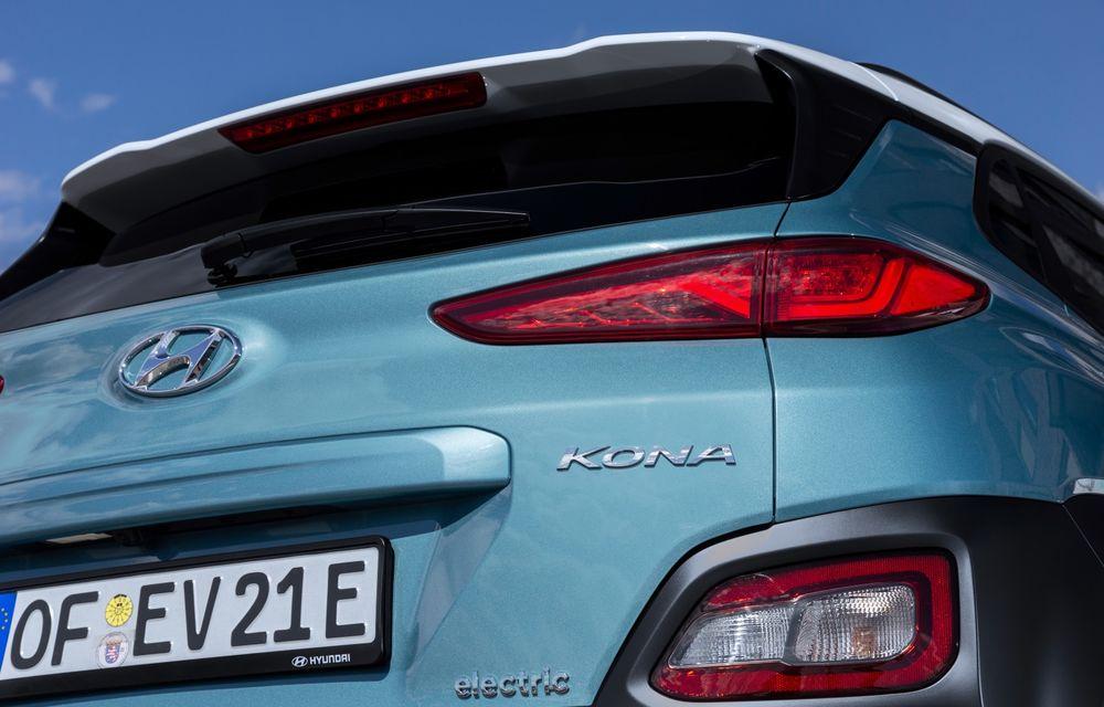 Facem cunoștință cu mașinile din #ElectricRomânia 2020: Hyundai Kona Electric, propunerea mărcii coreene pe populara piață a SUV-urilor electrice - Poza 11
