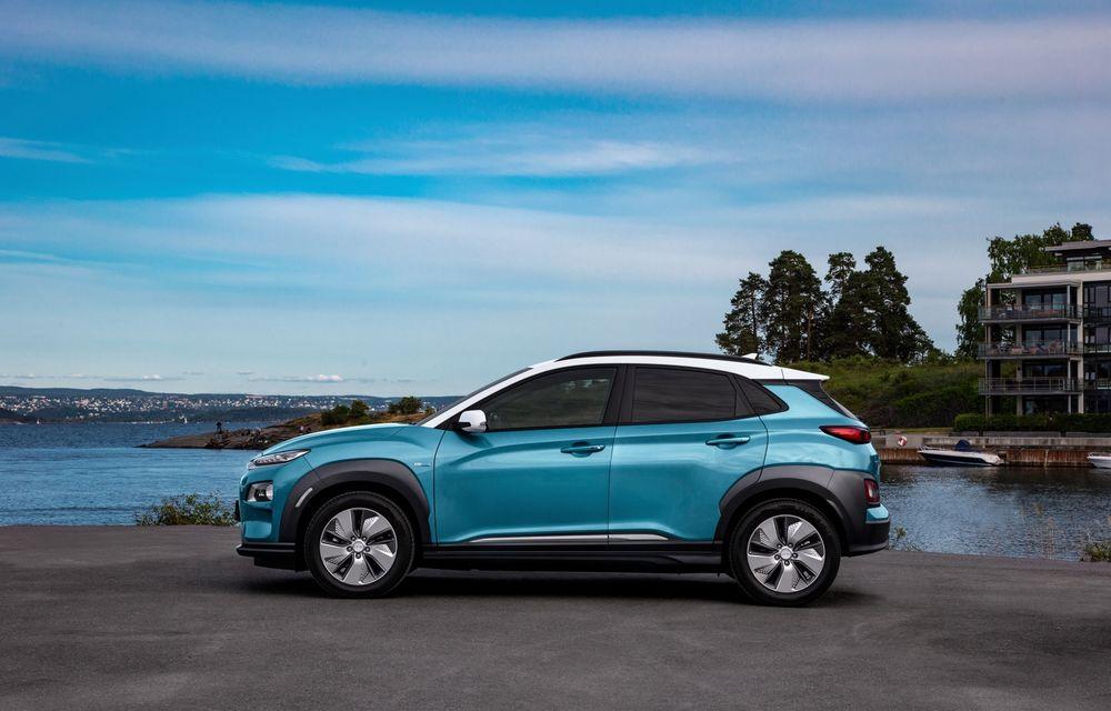 Facem cunoștință cu mașinile din #ElectricRomânia 2020: Hyundai Kona Electric, propunerea mărcii coreene pe populara piață a SUV-urilor electrice - Poza 13