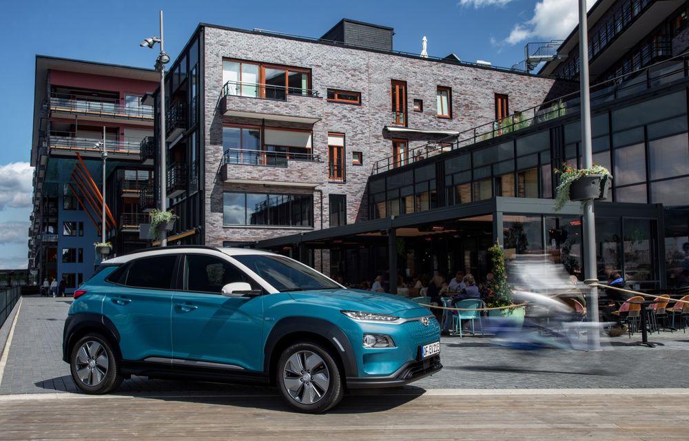 Facem cunoștință cu mașinile din #ElectricRomânia 2020: Hyundai Kona Electric, propunerea mărcii coreene pe populara piață a SUV-urilor electrice - Poza 9