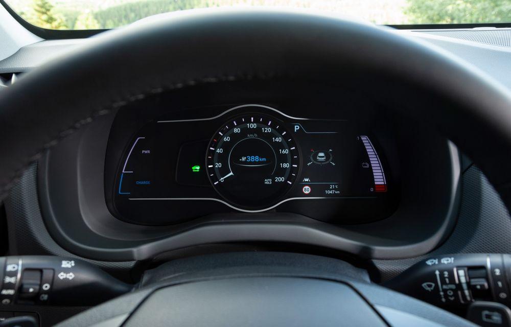 Facem cunoștință cu mașinile din #ElectricRomânia 2020: Hyundai Kona Electric, propunerea mărcii coreene pe populara piață a SUV-urilor electrice - Poza 20