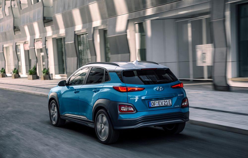 Facem cunoștință cu mașinile din #ElectricRomânia 2020: Hyundai Kona Electric, propunerea mărcii coreene pe populara piață a SUV-urilor electrice - Poza 6