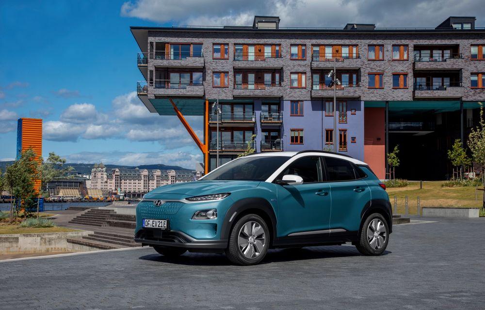 Facem cunoștință cu mașinile din #ElectricRomânia 2020: Hyundai Kona Electric, propunerea mărcii coreene pe populara piață a SUV-urilor electrice - Poza 8