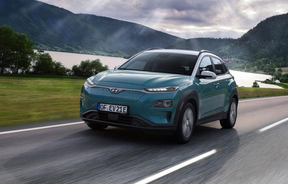 Facem cunoștință cu mașinile din #ElectricRomânia 2020: Hyundai Kona Electric, propunerea mărcii coreene pe populara piață a SUV-urilor electrice - Poza 1