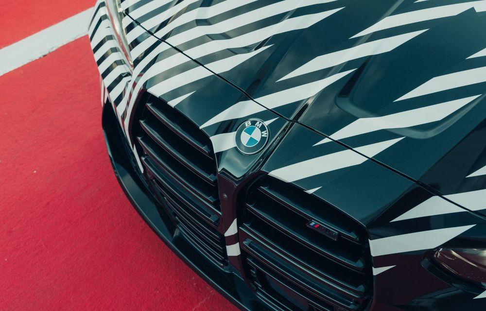 Imagini camuflate cu prototipurile viitoarelor M4 Coupe și M4 GT3: modelul de stradă va fi prezentat în luna septembrie, în timp ce versiunea de competiții va debuta în 2021 - Poza 8