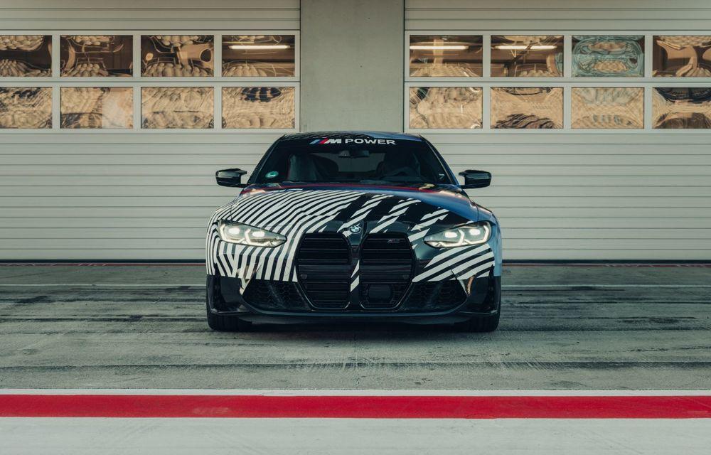 Imagini camuflate cu prototipurile viitoarelor M4 Coupe și M4 GT3: modelul de stradă va fi prezentat în luna septembrie, în timp ce versiunea de competiții va debuta în 2021 - Poza 6