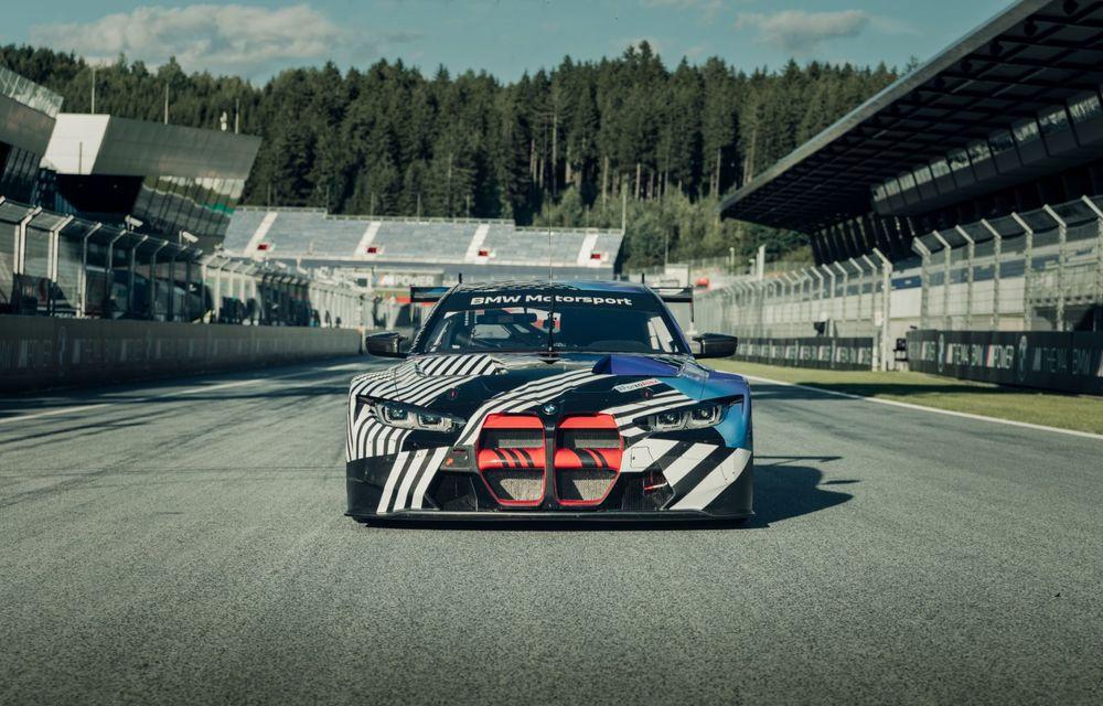 Imagini camuflate cu prototipurile viitoarelor M4 Coupe și M4 GT3: modelul de stradă va fi prezentat în luna septembrie, în timp ce versiunea de competiții va debuta în 2021 - Poza 9