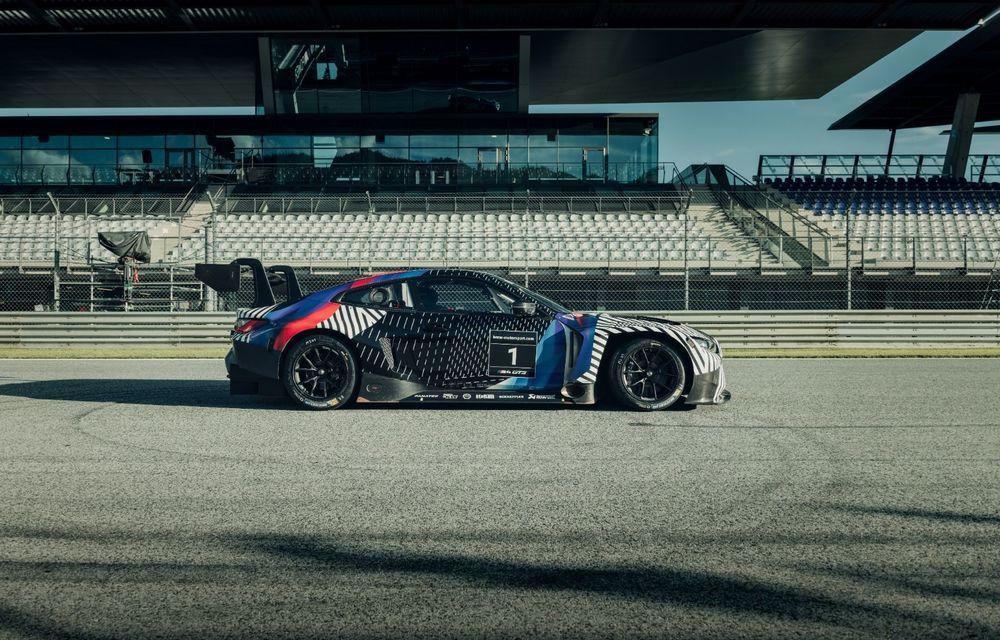 Imagini camuflate cu prototipurile viitoarelor M4 Coupe și M4 GT3: modelul de stradă va fi prezentat în luna septembrie, în timp ce versiunea de competiții va debuta în 2021 - Poza 10