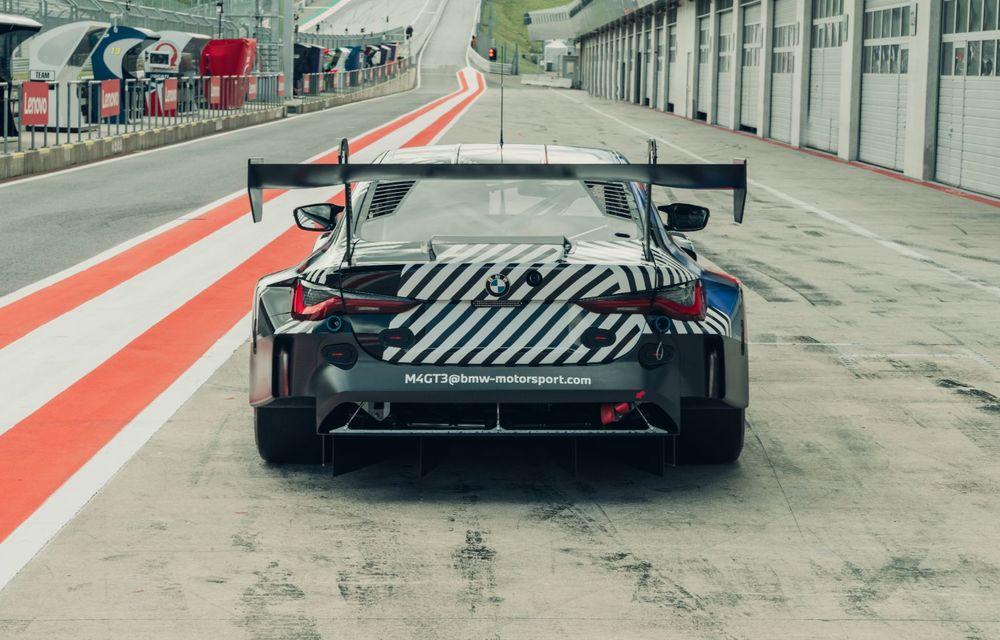 Imagini camuflate cu prototipurile viitoarelor M4 Coupe și M4 GT3: modelul de stradă va fi prezentat în luna septembrie, în timp ce versiunea de competiții va debuta în 2021 - Poza 12