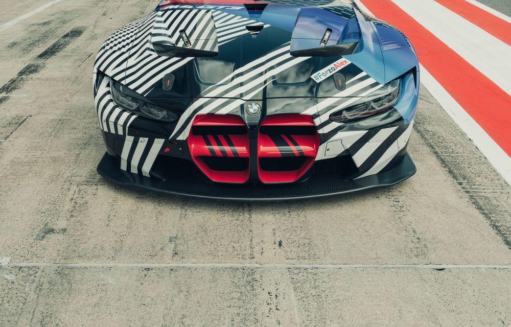 Imagini camuflate cu prototipurile viitoarelor M4 Coupe și M4 GT3: modelul de stradă va fi prezentat în luna septembrie, în timp ce versiunea de competiții va debuta în 2021 - Poza 14