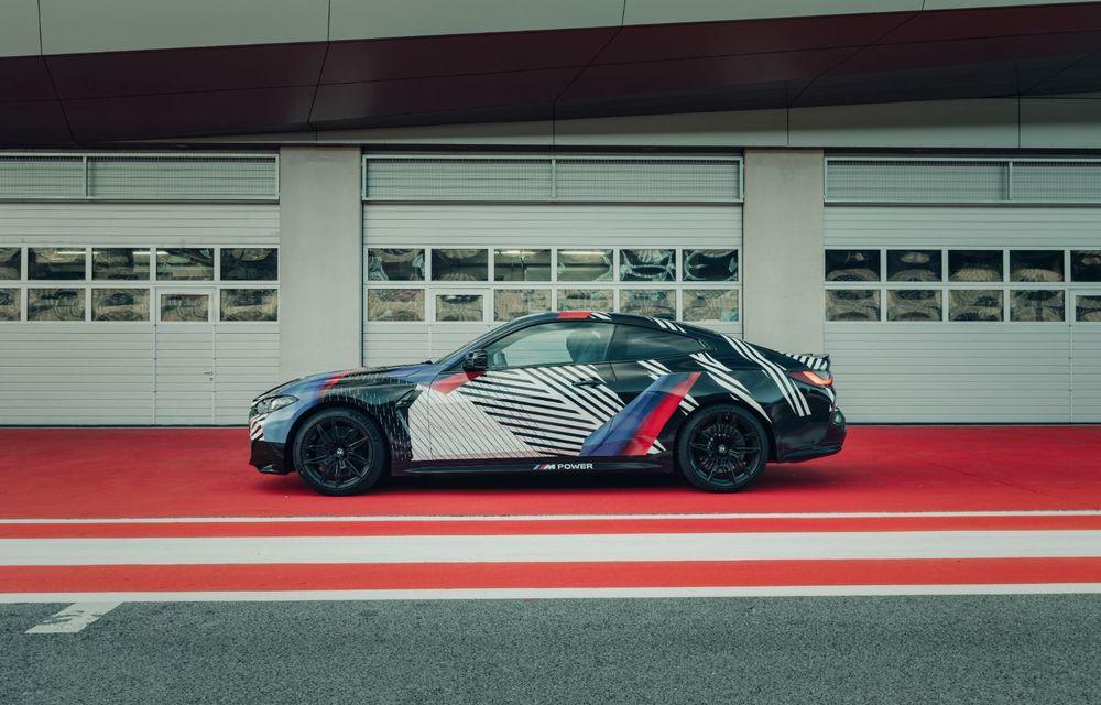 Imagini camuflate cu prototipurile viitoarelor M4 Coupe și M4 GT3: modelul de stradă va fi prezentat în luna septembrie, în timp ce versiunea de competiții va debuta în 2021 - Poza 5