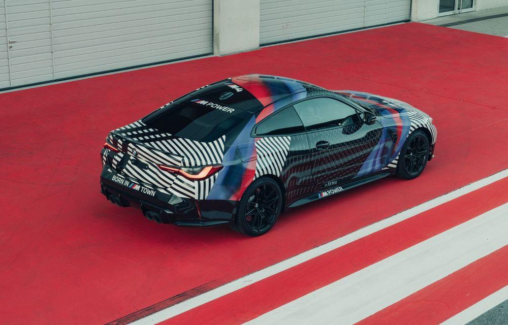 Imagini camuflate cu prototipurile viitoarelor M4 Coupe și M4 GT3: modelul de stradă va fi prezentat în luna septembrie, în timp ce versiunea de competiții va debuta în 2021 - Poza 4