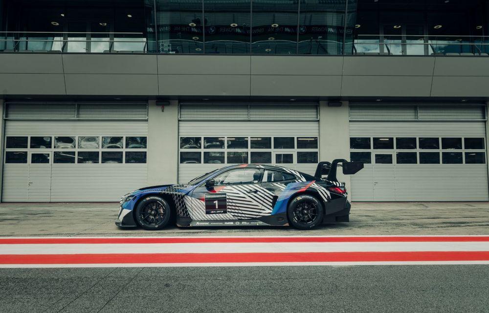 Imagini camuflate cu prototipurile viitoarelor M4 Coupe și M4 GT3: modelul de stradă va fi prezentat în luna septembrie, în timp ce versiunea de competiții va debuta în 2021 - Poza 13