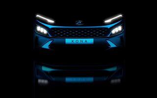 Teaser pentru Hyundai Kona facelift: constructorul pregătește și noua versiune Kona N Line