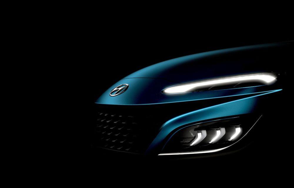 Teaser pentru Hyundai Kona facelift: constructorul pregătește și noua versiune Kona N Line - Poza 2