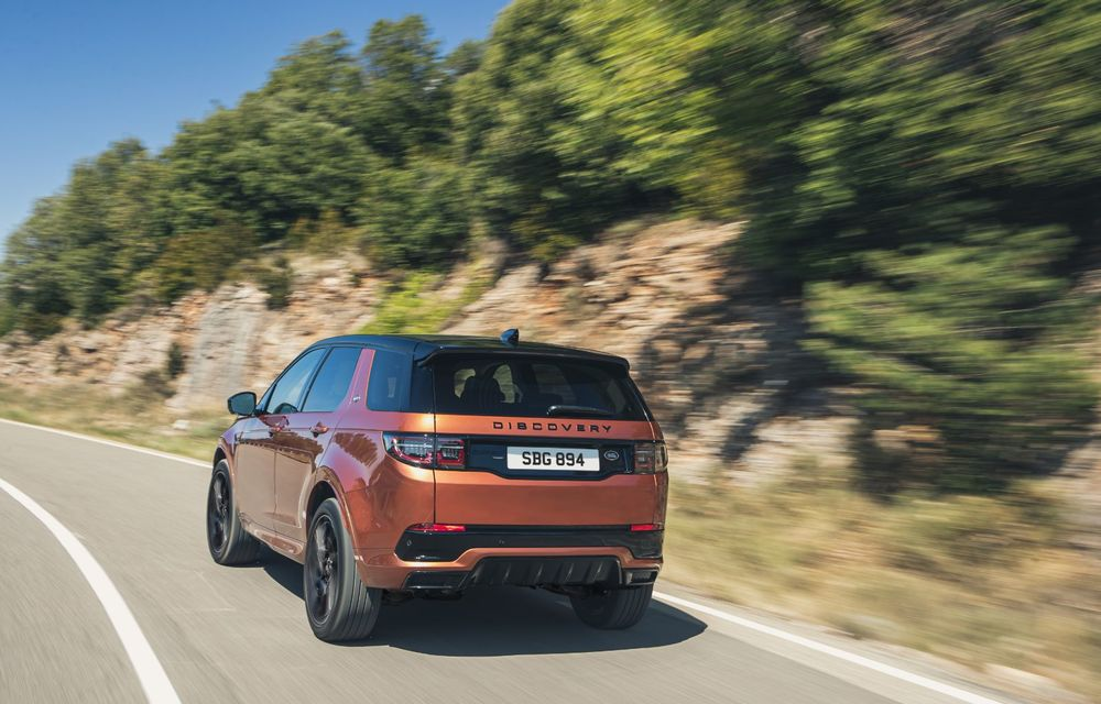 Îmbunătățiri pentru Range Rover Evoque și Land Rover Discovery Sport: motoare diesel mild-hybrid și un sistem nou de infotainment - Poza 3