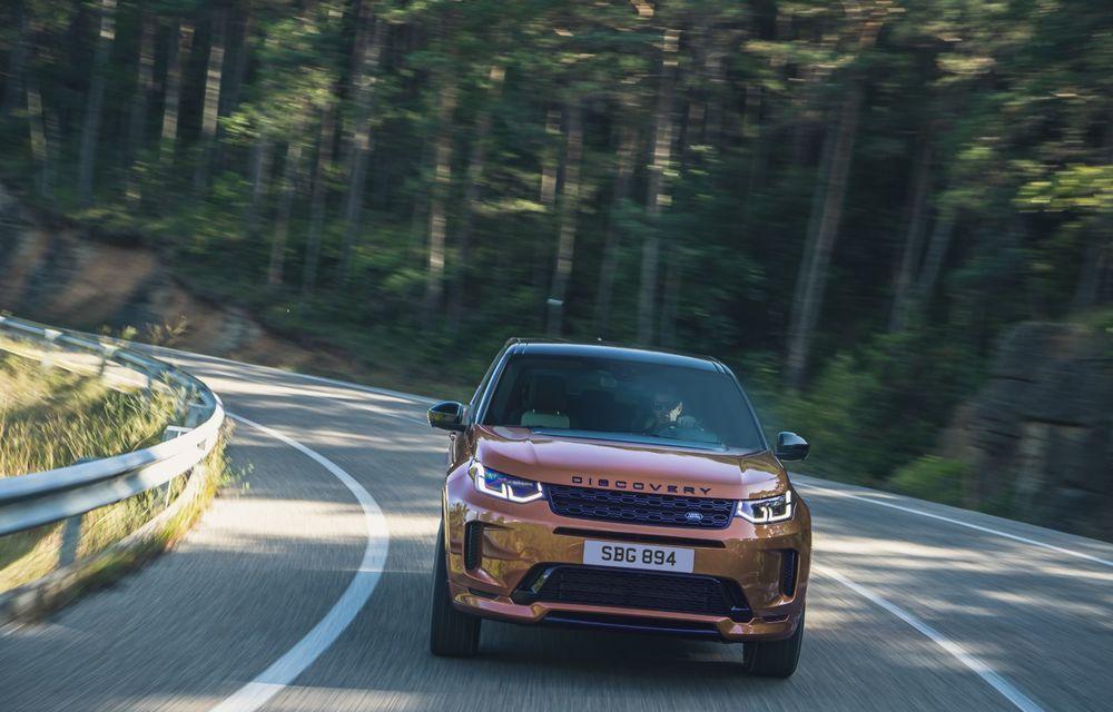 Îmbunătățiri pentru Range Rover Evoque și Land Rover Discovery Sport: motoare diesel mild-hybrid și un sistem nou de infotainment - Poza 2