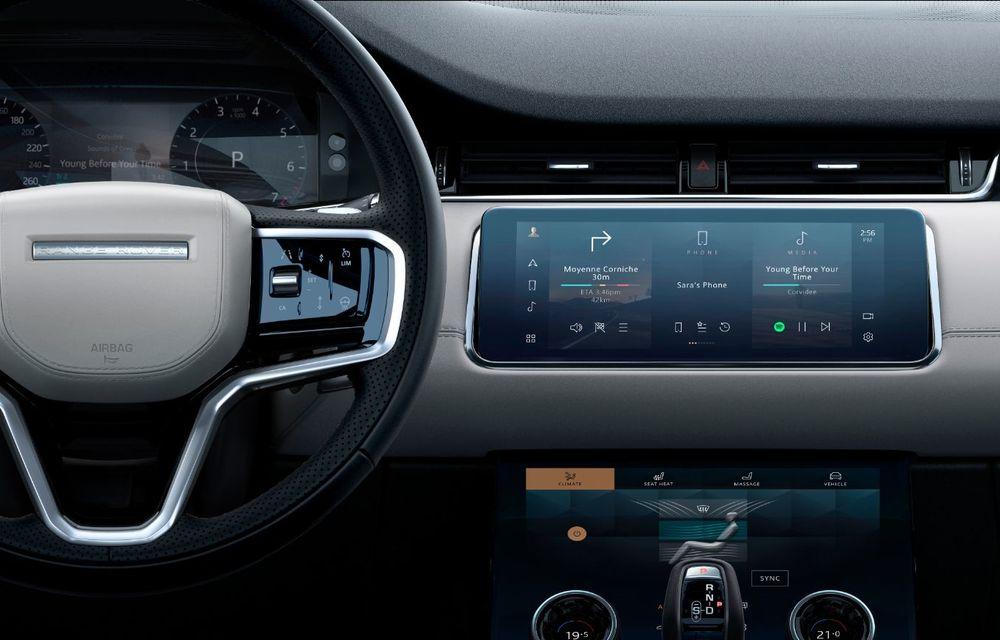 Îmbunătățiri pentru Range Rover Evoque și Land Rover Discovery Sport: motoare diesel mild-hybrid și un sistem nou de infotainment - Poza 13