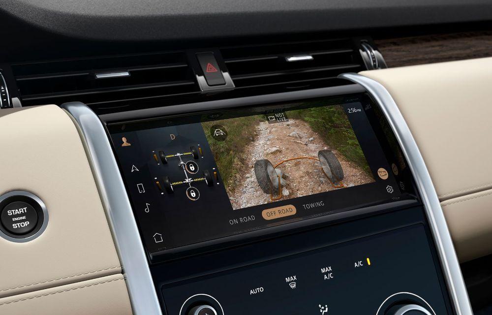Îmbunătățiri pentru Range Rover Evoque și Land Rover Discovery Sport: motoare diesel mild-hybrid și un sistem nou de infotainment - Poza 7