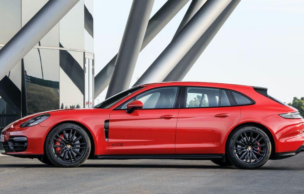 Porsche a prezentat Panamera facelift: nemții introduc versiunea Turbo S cu 630 CP și o nouă variantă plug-in hybrid cu autonomie electrică de până la 54 de kilometri - Poza 10