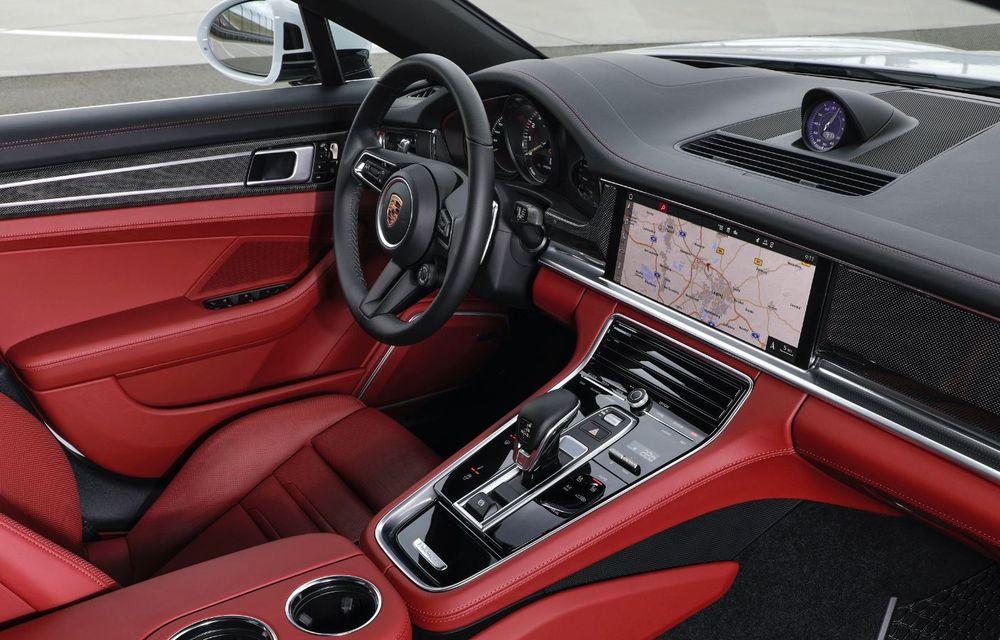 Porsche a prezentat Panamera facelift: nemții introduc versiunea Turbo S cu 630 CP și o nouă variantă plug-in hybrid cu autonomie electrică de până la 54 de kilometri - Poza 14
