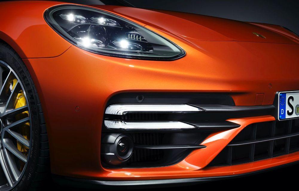 Porsche a prezentat Panamera facelift: nemții introduc versiunea Turbo S cu 630 CP și o nouă variantă plug-in hybrid cu autonomie electrică de până la 54 de kilometri - Poza 13