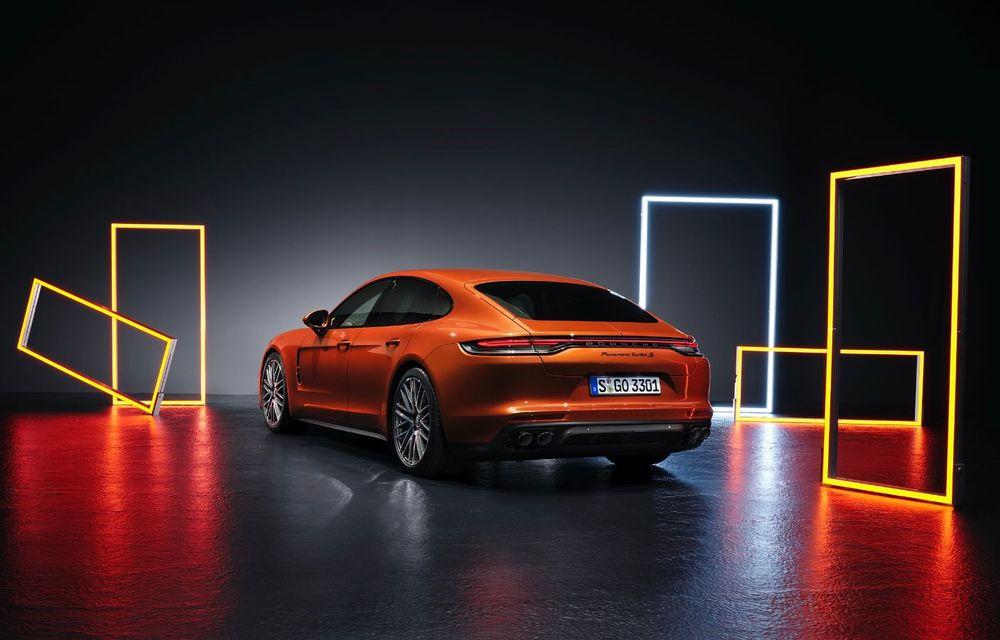 Porsche a prezentat Panamera facelift: nemții introduc versiunea Turbo S cu 630 CP și o nouă variantă plug-in hybrid cu autonomie electrică de până la 54 de kilometri - Poza 4