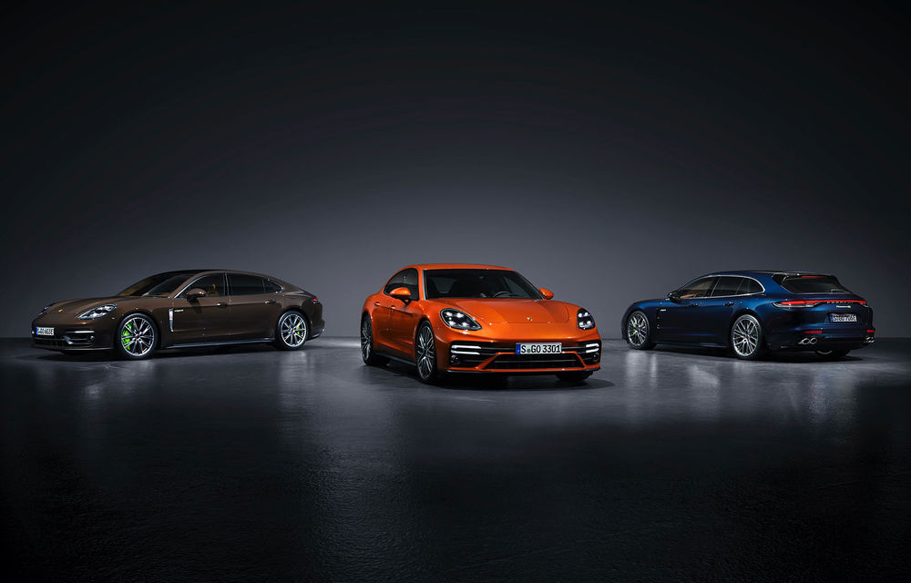 Porsche a prezentat Panamera facelift: nemții introduc versiunea Turbo S cu 630 CP și o nouă variantă plug-in hybrid cu autonomie electrică de până la 54 de kilometri - Poza 1