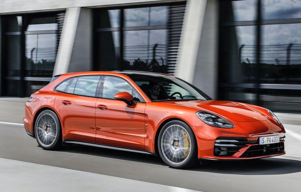 Porsche a prezentat Panamera facelift: nemții introduc versiunea Turbo S cu 630 CP și o nouă variantă plug-in hybrid cu autonomie electrică de până la 54 de kilometri - Poza 6