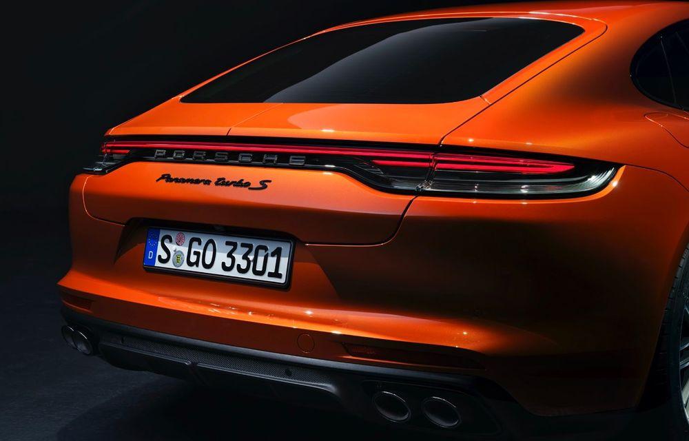Porsche a prezentat Panamera facelift: nemții introduc versiunea Turbo S cu 630 CP și o nouă variantă plug-in hybrid cu autonomie electrică de până la 54 de kilometri - Poza 12