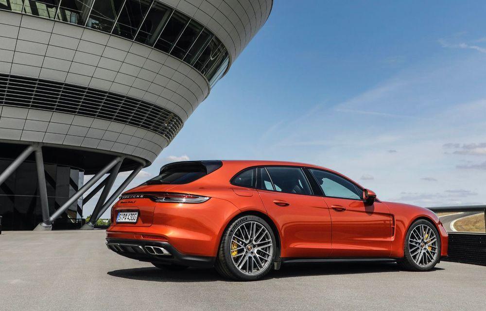 Porsche a prezentat Panamera facelift: nemții introduc versiunea Turbo S cu 630 CP și o nouă variantă plug-in hybrid cu autonomie electrică de până la 54 de kilometri - Poza 7