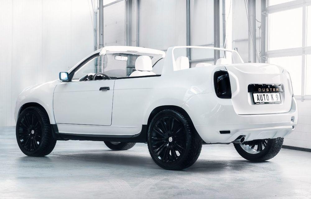 Duster Summer: un service auto a transformat un Duster avariat într-un coupe-cabrio după o investiție de 30.000 de euro - Poza 2