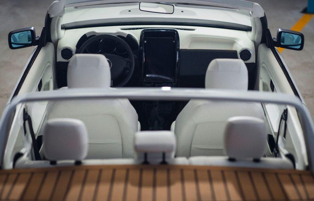 Duster Summer: un service auto a transformat un Duster avariat într-un coupe-cabrio după o investiție de 30.000 de euro - Poza 3