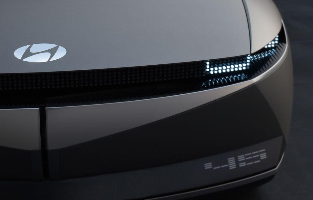 Video. Prototipul viitorului SUV electric Ioniq 5, spionat pe Nurburgring: modelul de serie va avea la bază conceptul Hyundai 45 - Poza 1