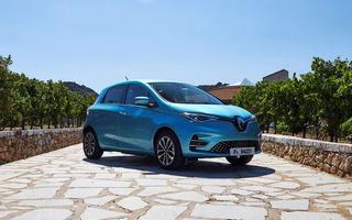 Renault Zoe, cea mai vândută mașină electrică în Europa în luna iulie: Hyundai Kona Electric și Volkswagen e-Golf completează podiumul