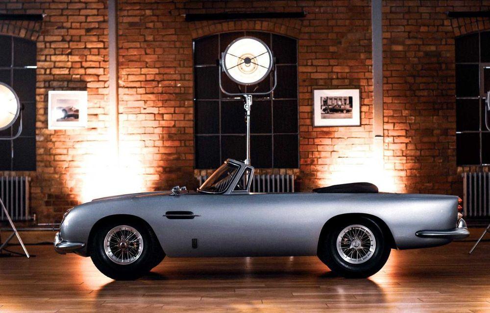 Aston Martin prezintă DB5 Junior: modelul electric destinat celor mici are versiune cu aproape 14 CP și costă peste 50.000 de euro - Poza 3