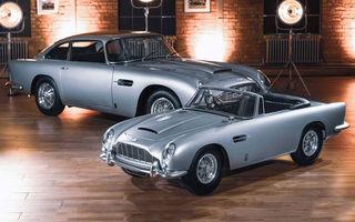 Aston Martin prezintă DB5 Junior: modelul electric destinat celor mici are versiune cu aproape 14 CP și costă peste 50.000 de euro