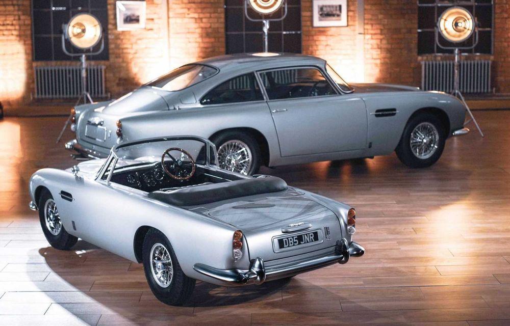 Aston Martin prezintă DB5 Junior: modelul electric destinat celor mici are versiune cu aproape 14 CP și costă peste 50.000 de euro - Poza 2