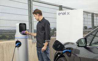 #ElectricRomânia 2020: Cu aplicația mobilă JuicePass încarci mașina electrică în stațiile Enel X