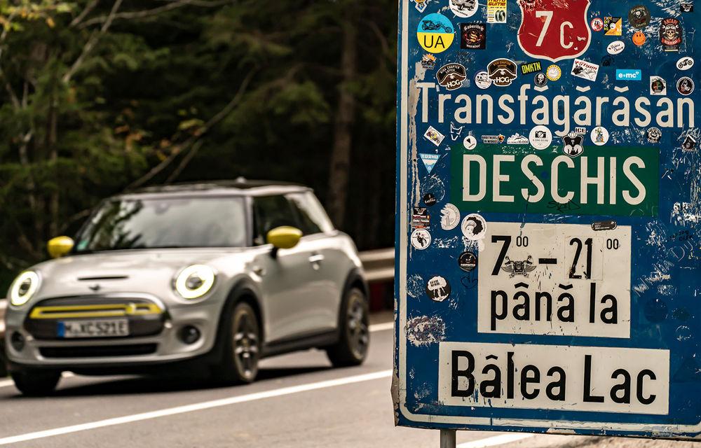 Facem cunoștință cu mașinile din #ElectricRomânia 2020: Mini Cooper SE, senzația de kart tradusă în zâmbete/kWh - Poza 16